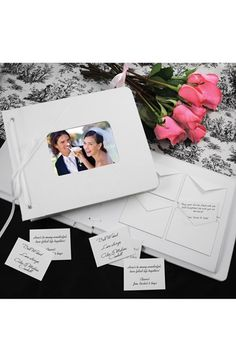CATHY'S CONCEPTS 'Wedding Wishes' Envelope Guest Book available at #Nordstrom