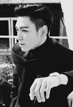 Excuse you, T.O.P, who gave you permission to look this good?
