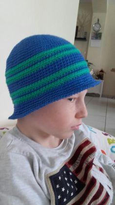 Chapeau crochet en coton