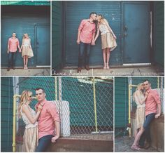 Engagement photos, couple, poses, industrial, St. Louis - MO Wedding Photographer — Charis Rowland Photography