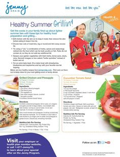 Healthy Grilling Tips from Jenny Craig