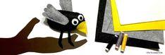 DIY Knuffeltje vogel van viltlapjes - Prentenboek Coco kan het! (Loes Riphagen/Gottmer uitgeverij) Vans Shop, Cute Birds, Little Birds, Sewing For Beginners, Softies, Coco, Superhero Logos, Crochet Hooks, Disney Characters