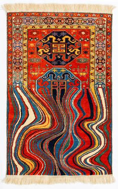 Faig Ahmed Creates Glitched-Out Contemporary Rugs from Traditional Azerbaijani Textiles