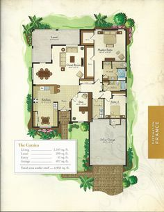 The Courtyards At Montelena Napoli Floor Plan In Solivita