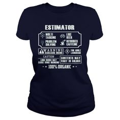 Awesome Estimator T-Shirt #gift #ideas #Popular #Everything #Videos #Shop #Animals #pets #Architecture #Art #Cars #motorcycles #Celebrities #DIY #crafts #Design #Education #Entertainment #Food #drink #Gardening #Geek #Hair #beauty #Health #fitness #History #Holidays #events #Home decor #Humor #Illustrations #posters #Kids #parenting #Men #Outdoors #Photography #Products #Quotes #Science #nature #Sports #Tattoos #Technology #Travel #Weddings #Women