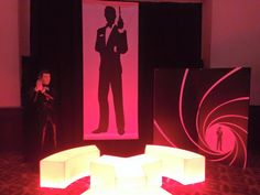 James bons James Bond Casino, Neon Signs, Lounge, Airport Lounge, Drawing Rooms, Lounges, Lounge Music, Family Rooms