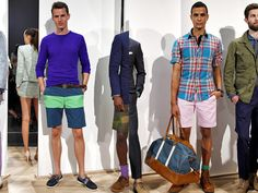 J.Crew 2013 Spring Summer Mens Runway Collection