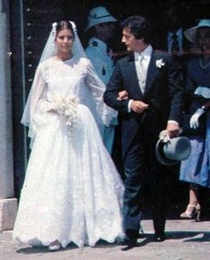 June 29, 1978 she married Phillipe Junot, a Parisian banker--princess caroline wedding - Google Search
