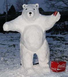 POLAR BEAR SNOWMEN