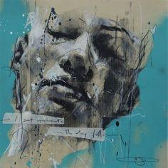 Self Portrait Drawing, Ap Drawing, Abstract Portrait, Portrait Paintings, Ballerina Painting, Charcoal Portraits, Spray Paint Art, Identity Art, A Level Art