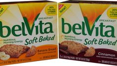 QUICK REVIEW: Nabisco belVita Soft Baked Breakfast Biscuits (Banana Bread and Cinnamon)