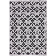 Nikki Chu by Jaipur Living Tanith Indoor/ Outdoor Geometric Area Rug - 5′3″ × 7′6″