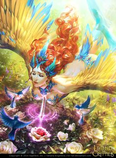 """Love - Regular"" by Tatiana Kirgetova (kir-tat) | Legend of the Cryptids | #Fantasy"