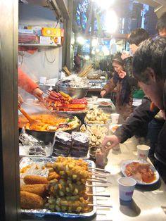 Korean street food... I MISS THIS!!!!!