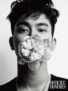 Choi Siwon of Super Junior in L'Officiel Hommes Magazine