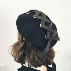 buy frome lace up beret at yesstylecom quality products at remarkable prices