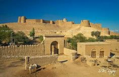 At about 22 kilometers south of Khairpur in the province of Sindh Pakistan, the site is situated at the foot of the Rohri Hills where a fort (Kot Diji Fort) was built around 1790 by Talpur dynasty ruler of Upper Sindh.