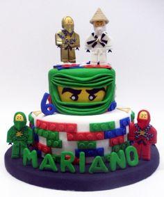 tortas de cumpleaños de lego ninjago - Buscar con Google