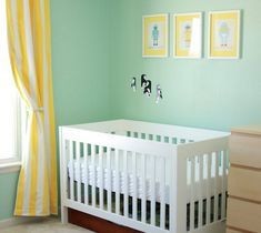 yellow baby room - Google Search