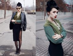 Green zone  BY MAGDALENA M., 25 YEAR OLD FASHION BLOGGER FROM POLAND