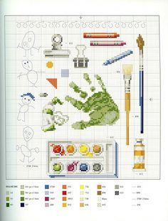 Gallery.ru / Book::Veronique Enginger 9 Фото #143 KIM-2 {art supplies cross stitch patterns}