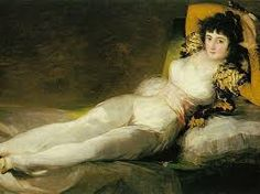 Maja Vestida. Francisco Goya 1800