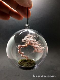 Literati wire bonsai tree ornament by Ken To by KenToArt on DeviantArt