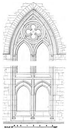 Bunham Aisle, west window