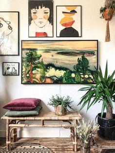 Living Room Designs, Living Room Decor, Dining Room, Caribbean Homes, Room Partition Designs, Framed Tv, Decoration, Home And Living, Home Art