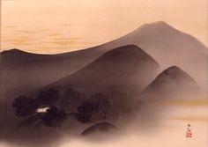 横山大観 Yokoyama Taikan   Such a lovely piece!