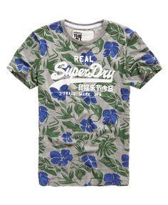 Superdry - T-shirt Floral Forage - T-shirts pour Homme