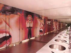 Toile imprimée murale pour discothèque