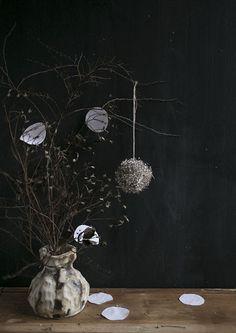 a ceramic vase by gretchen gretchen