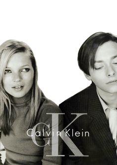 Kate Moss & Edward Furlong for CK.