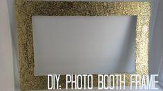DIY: Photo booth frame