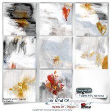 Hearts 01 - Papers by Eirene Designs cudigitals.com cu commercial scrap scrapbook digital graphics#digitalscrapbooking #photoshop #digiscrap #scrapbooking