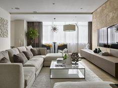 Apartment in dominanta by Alexandra Fedorova 01 Living room, ideas, apartment, design, furniture, interior, room, decoration, house, home, indoor, cabinet.