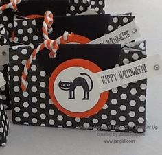 Jan Girl: Stampin' Up Halloween gift bags