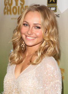 Hayden Panettiere Medium Curls