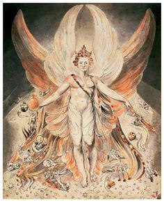 """Satan in the original glory"", William Blake"