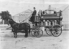 John Hislop, Undertaker, Brisbane, c. 1902