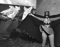 Marina Campa as Batman's Grandmother, Kimberly Crown Circus,Mexico City, Mexico, 1997 Photo by Mary Ellen Mark Mary Ellen Mark, Diane Arbus, Vivian Maier, Lee Friedlander, Berenice Abbott, American Photo, Photo D Art, Portraits, Advertising Photography
