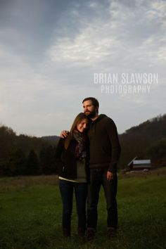 Photo by Brian Slawson Photography. #engagements #outdoor