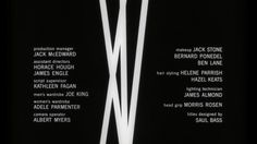 Saul Bass | The Man with the Golden Arm (1955) title sequence