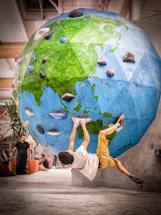 Wow: that's awesome! I need this so I can say ya I've climbed all over the world!
