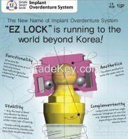 Ez Lock [inovative Implant Overdenture System]