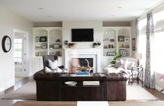 A Light, Airy, and Family-Friendly Living Room Update