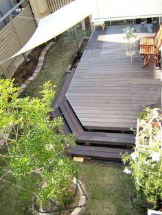 プライベートな空間に憧れて ガーデンDIYを楽しむ #85 ポコさん | アイリスプラザ_メディア Landscape Design, Deck, Garden, Outdoor Decor, Home Decor, Garten, Decoration Home, Room Decor, Landscape Designs
