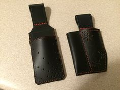 server holster, bartender holster, pen holster, leather, beer blade, wine crank, crumber