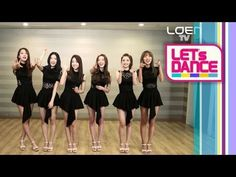Let's Dance :  Dalshabet(달샤벳) - Be Ambitious(내 다리를 봐) - Dalshabet shows the lovely sexiness of their group. By showing their beauties that they have been hiding before! It's the point choreography lesson by Dalshabet! Let's Dance! Let's learn the point choreography of 'Be Ambitious' that looks exactly like Marilyn Monroe!